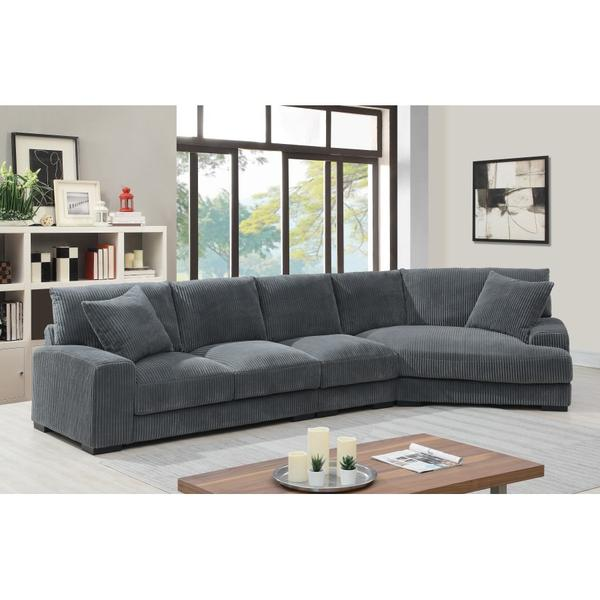 See Details - Big Chill Charcoal Sectional, U2249B