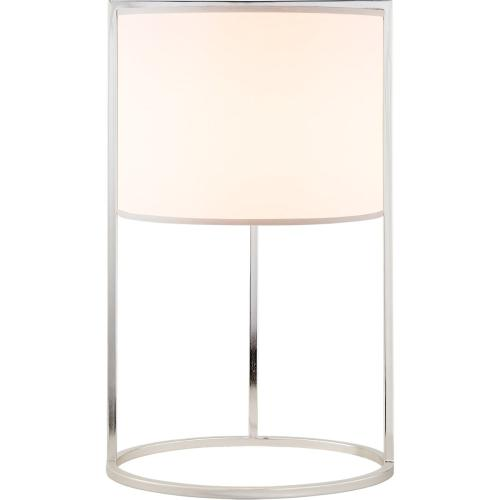 Visual Comfort BBL3110SS-S Barbara Barry Framework 18 inch 75 watt Soft Silver Table Lamp Portable Light