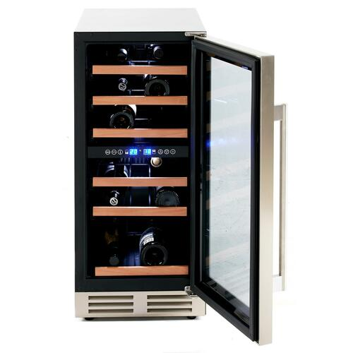 28 Bottle DESIGNER Series Dual-Zone Wine Cooler