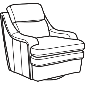 Bixby Leather Swivel Chair