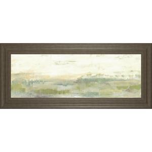 """Greenery Horizon Line I"" By Jennifer Goldberger Framed Print Wall Art"