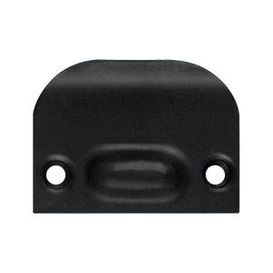 Full Lip Strike Plate For Ball Catch and Roller Catch - Paint Black