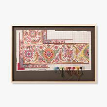 0307690036 Vintage Rug Map Wall Art