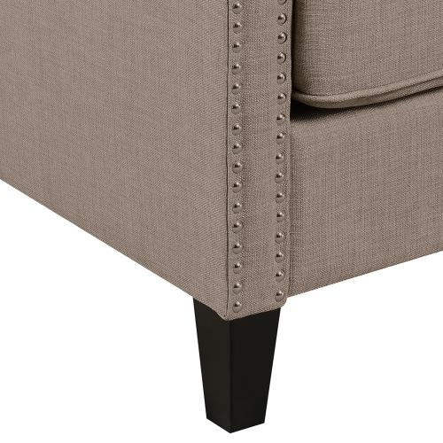 Erica Accent Chair in Smoke