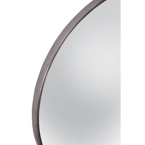 Bassett Mirror Company - Silver Convex Wall Mirror