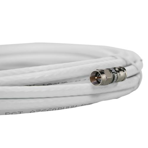100' Coaxial Cable White