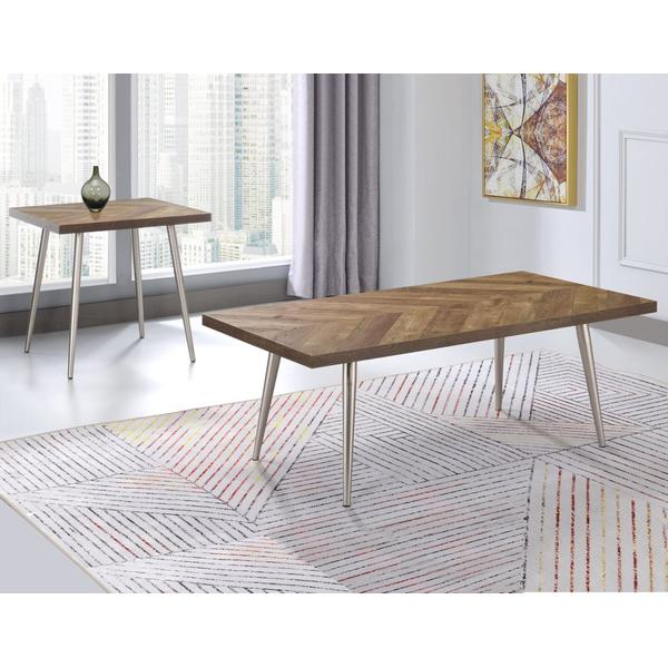 Worth 3-Piece Occasional (Cocktail Table & 2 End Tables)
