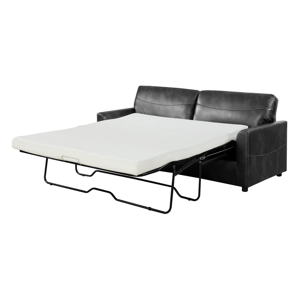 Slumber Queen Sleeper Sofa, Black U3215-50-26
