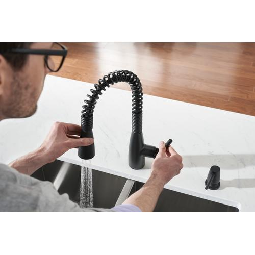Product Image - Springvale ™ Pulldown Kitchen Faucet in Matte Black