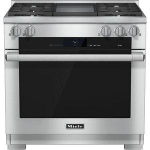 36 inch range Dual Fuel with M Touch controls, Moisture Plus and M Pro dual stacked burners Product Image