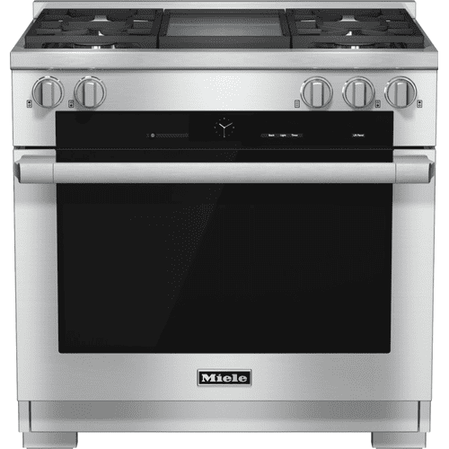 HR 1936-2 LP - 36 inch range Dual Fuel with M Touch controls, Moisture Plus and M Pro dual stacked burners
