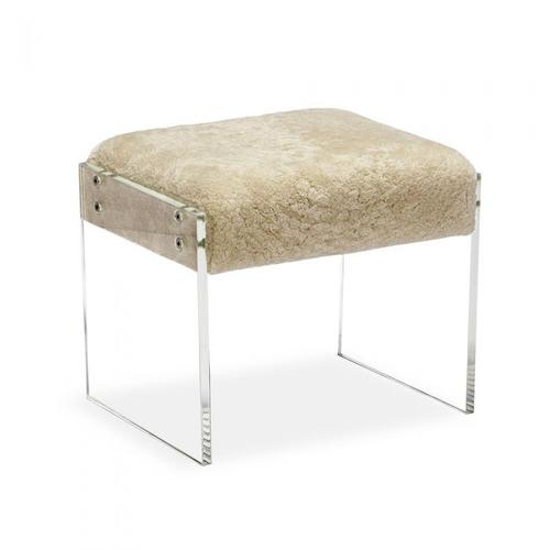 Aiden Shearling Stool