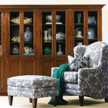 Guilford Medium Cherry Quad Display Cabinet