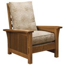 Loose Cushion, Oak Spindle Morris Chair