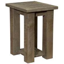 Open Nightstand with shelf - Driftwood