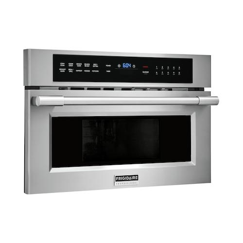 Frigidaire Professional - Frigidaire Professional 30'' Built-In Convection Microwave Oven with Drop-Down Door