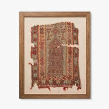 0325430007 Vintage Rug Fragment Wall Art