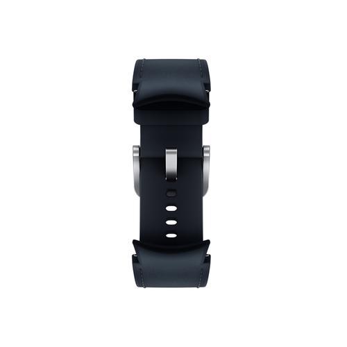 Samsung - Galaxy Watch4, Galaxy Watch4 Classic Hybrid Leather Band, M/L, Navy
