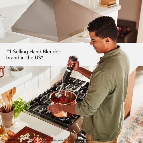 Gallery - Cordless Variable Speed Hand Blender - Black Matte