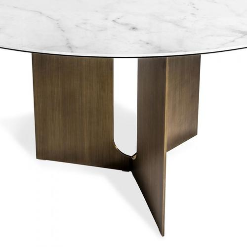 Pierre Dining Table - Bronze