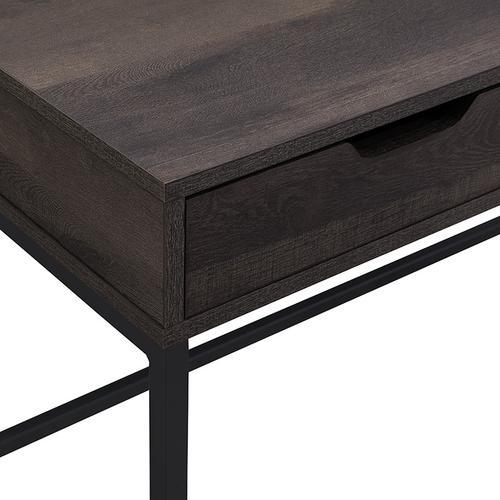 "Contempo 40"" Desk With Drawer and Shelf In Ozark Finish"
