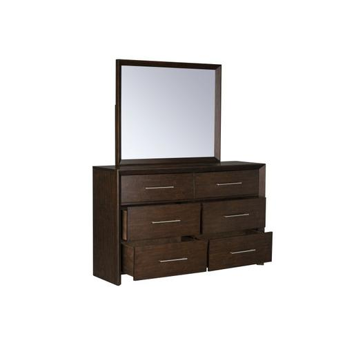 Gallery - Brentwood Dresser with Mirror, Brown