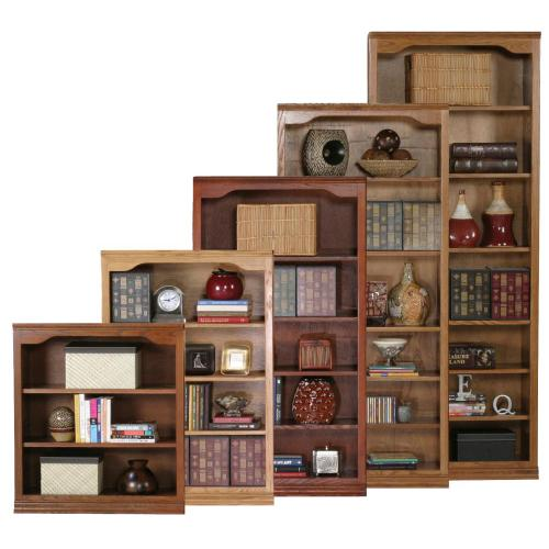 """Gallery - 48"""" Open Bookcase"""