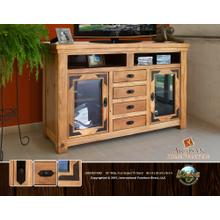 """60"""" Wide, Four Drawer TV Stand"""
