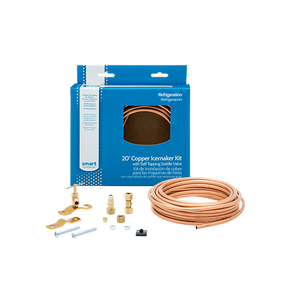 Frigidaire - Smart Choice 20' Copper Refrigerator Waterline Kit, Self Tapping