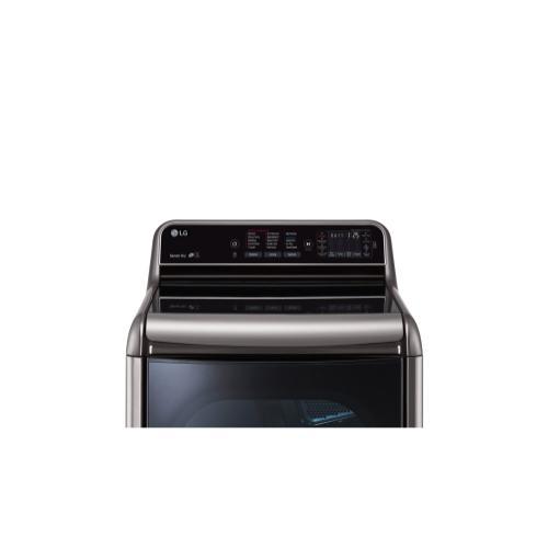 9.0 cu. ft. Mega Capacity TurboSteam™ Dryer with EasyLoad™ Door