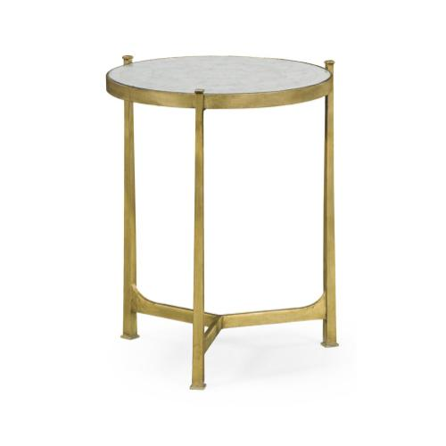 glomise & Gilded Iron Medium Lamp Table