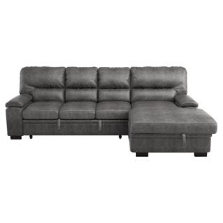 Michigan Sectional Right w Pull-out Bed & Storage