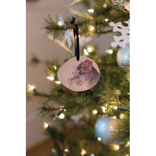"3.5"" E+E Framily Portrait Ornament (Suze Seal Option)"