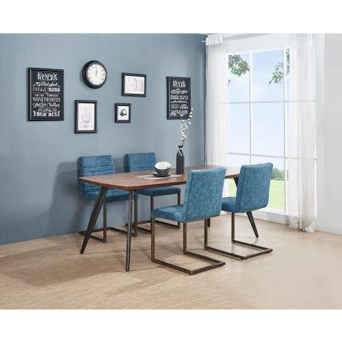 Gerald KD PU Dining Chair, Kalahari Blue