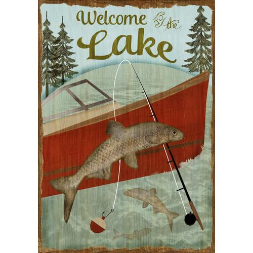 Gallery - Welcome To the Lake By Beth Albert