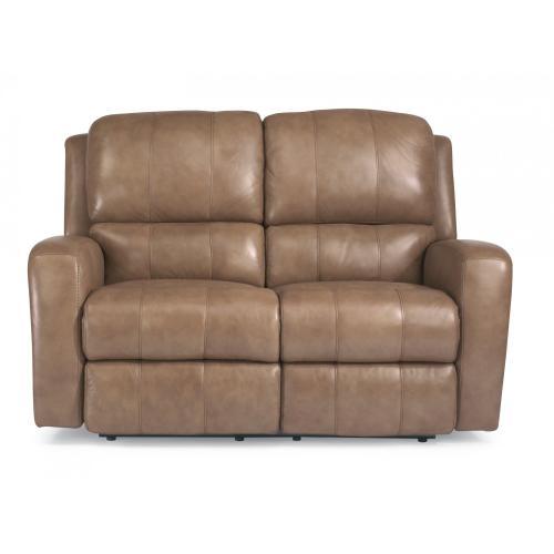 Product Image - Hammond Leather Power Reclining Loveseat