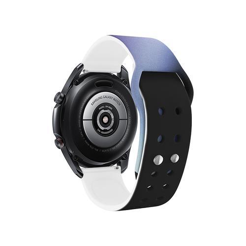 Samsung - Galaxy Watch4, Galaxy Watch4 Classic, Sami Mir Vintage Eco-Friendly TPU Band, S/M, Cloud Navy