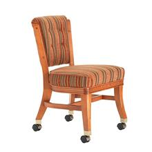 960 Armless Club Chair w/ Casters