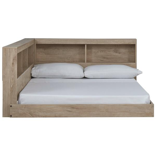 Oliah Full Bookcase Storage Bed
