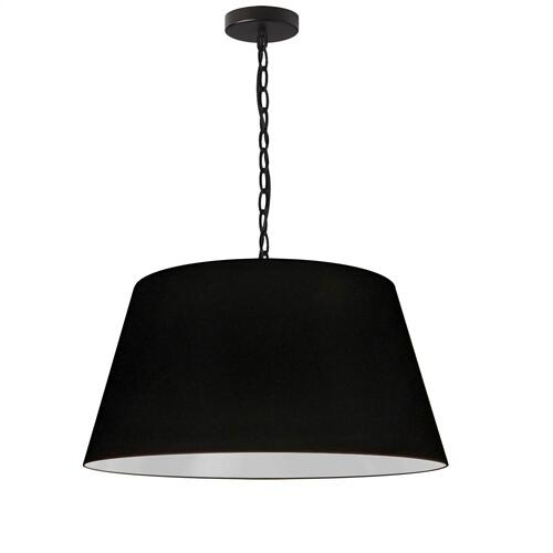 Product Image - 1lt Brynn Medium Pendant, Blk Shade, Black