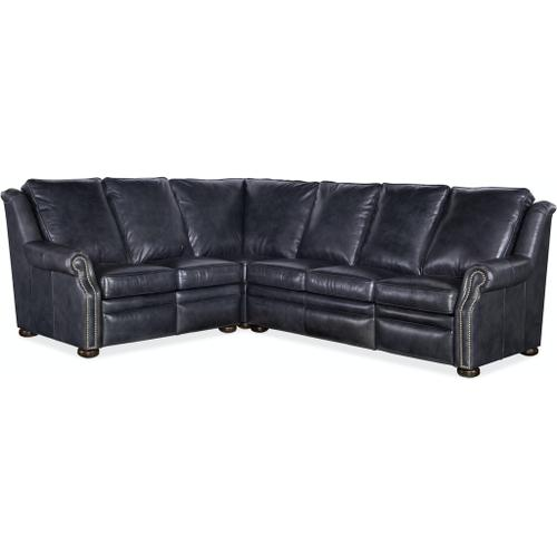 Bradington Young - Bradington Young Pauley LAF Loveseat Recline At Arm w/Articulating Headrest 942-55