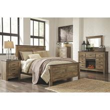 View Product - Queen Panel Bed With Dresser, Chest and Nightstand