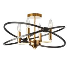 4lt Incandescent Semi Flush, Vb and Mb