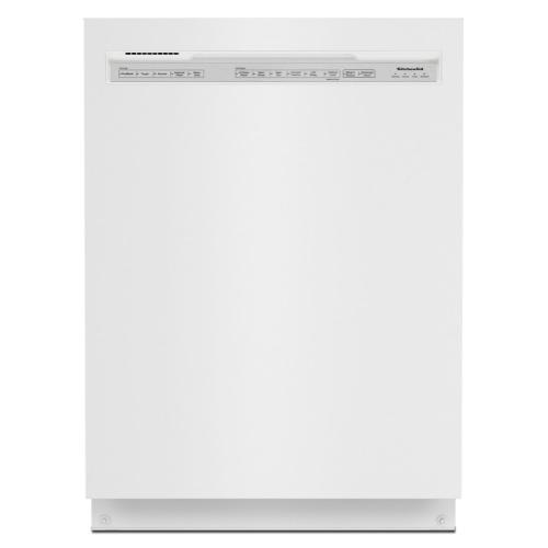 39 dBA Dishwasher in PrintShield Finish with Third Level Utensil Rack - White
