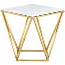"Mason Gold End Table - 20"" W x 20"" D x 22"" H"