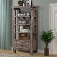 LODGE - SILTSTONE Bookcase