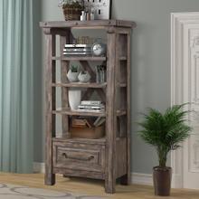 LODGE - SILTSTONE Bookcase