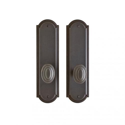 "Rocky Mountain Hardware - Ellis Passage Set - 3"" x 11"" Silicon Bronze Dark"