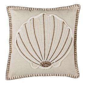 Della Seashell Pillow - Natural