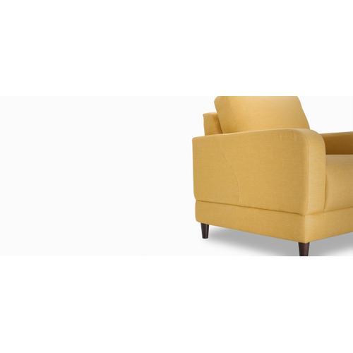 Jaymar - Brasilia Chair (001; Wood legs - Tea T37)